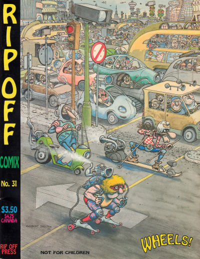 Cover for Rip Off Comix (Rip Off Press, 1977 series) #31