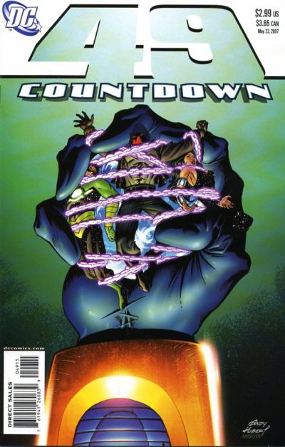 Cover for Countdown (DC, 2007 series) #49