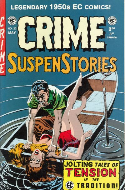 Cover for Crime Suspenstories (Gemstone, 1994 series) #23
