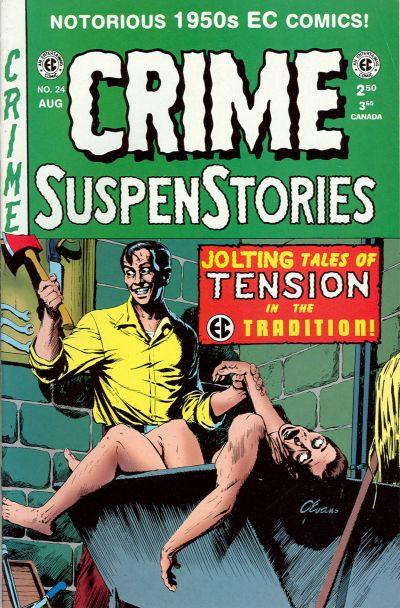 Cover for Crime Suspenstories (Gemstone, 1994 series) #24