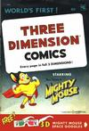 Cover for Three Dimension Comics (St. John, 1953 series) #1a