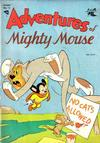 Cover for Adventures of Mighty Mouse (St. John, 1952 series) #15