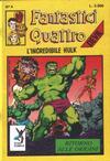 Cover for Fantastici Quattro (Edizioni Star Comics, 1988 series) #4