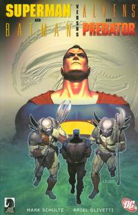 Cover Thumbnail for Superman and Batman vs. Aliens and Predator (DC, 2007 series)
