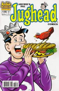 Cover Thumbnail for Archie's Pal Jughead Comics (Archie, 1993 series) #188