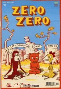Cover Thumbnail for Zero Zero (Fantagraphics, 1995 series) #13