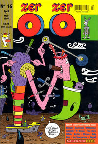Cover Thumbnail for Zero Zero (Fantagraphics, 1995 series) #16