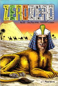 Cover Thumbnail for Zero Zero (Fantagraphics, 1995 series) #22