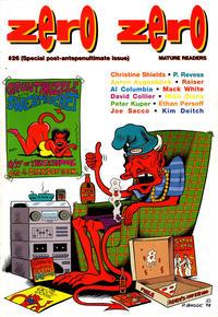 Cover Thumbnail for Zero Zero (Fantagraphics, 1995 series) #26
