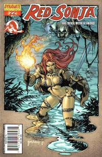 Cover Thumbnail for Red Sonja (Dynamite Entertainment, 2005 series) #22 [Stephen Segovia Cover]