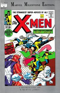 Cover Thumbnail for Marvel Milestone Edition: X-Men #1 (Marvel, 1991 series)  [Direct Edition]