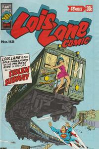Cover Thumbnail for Lois Lane Comic (K. G. Murray, 1975 series) #112