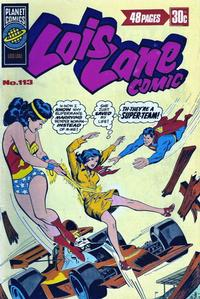 Cover Thumbnail for Lois Lane Comic (K. G. Murray, 1975 series) #113