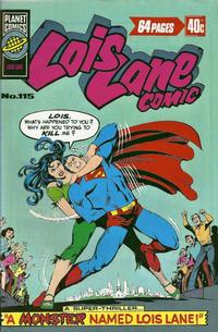 Cover Thumbnail for Lois Lane Comic (K. G. Murray, 1975 series) #115