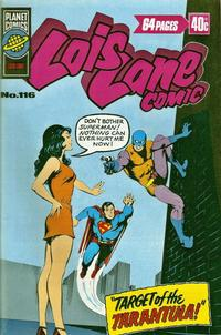 Cover Thumbnail for Lois Lane Comic (K. G. Murray, 1975 series) #116