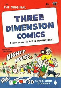 Cover for Three Dimension Comics (St. John, 1953 series) #2