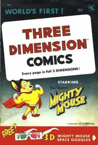 Cover Thumbnail for Three Dimension Comics (St. John, 1953 series) #1a