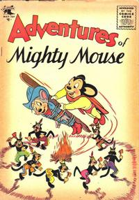 Cover Thumbnail for Adventures of Mighty Mouse (St. John, 1952 series) #18