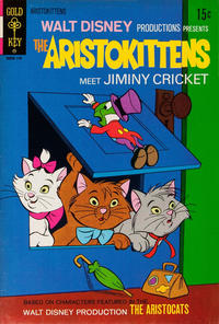 Cover Thumbnail for Walt Disney Productions Presents The Aristokittens Meet Jiminy Cricket (Western, 1971 series) #[1]