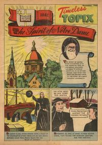 Cover for Timeless Topix (Catechetical Guild Educational Society, 1942 series) #v3#3