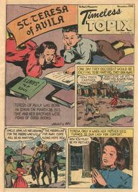 Cover Thumbnail for Timeless Topix (Catechetical Guild Educational Society, 1942 series) #v4#3