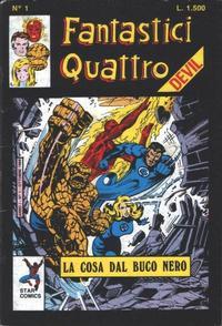 Cover Thumbnail for Fantastici Quattro (Edizioni Star Comics, 1988 series) #1
