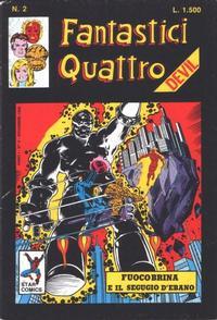 Cover Thumbnail for Fantastici Quattro (Edizioni Star Comics, 1988 series) #2