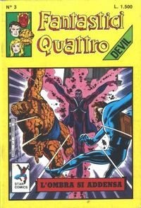 Cover Thumbnail for Fantastici Quattro (Edizioni Star Comics, 1988 series) #3