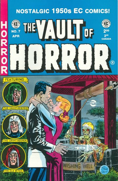 Cover for Vault of Horror (Russ Cochran, 1992 series) #7
