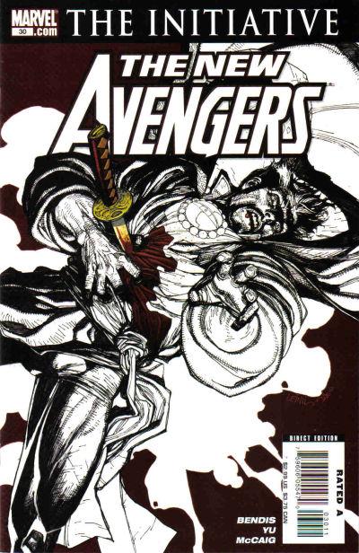 Cover for New Avengers (Marvel, 2005 series) #30