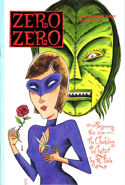 Cover for Zero Zero (Fantagraphics, 1995 series) #[2]