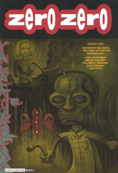 Cover for Zero Zero (Fantagraphics, 1995 series) #4