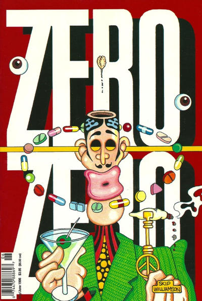 Cover for Zero Zero (Fantagraphics, 1995 series) #[9]