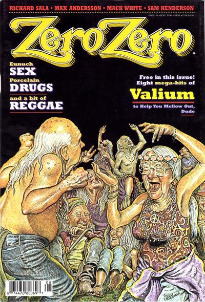 Cover for Zero Zero (Fantagraphics, 1995 series) #10