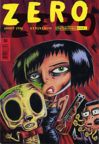 Cover for Zero Zero (Fantagraphics, 1995 series) #12