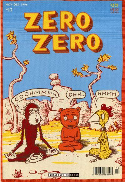 Cover for Zero Zero (Fantagraphics, 1995 series) #13