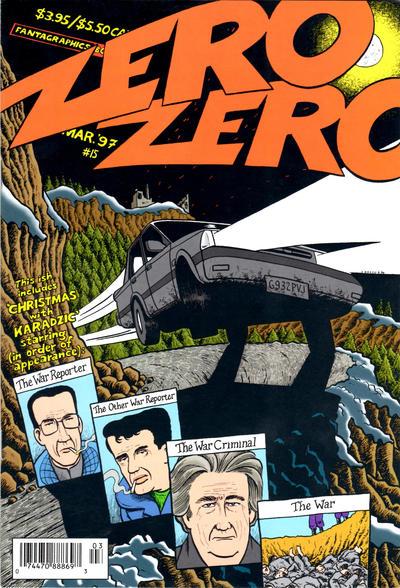 Cover for Zero Zero (Fantagraphics, 1995 series) #15