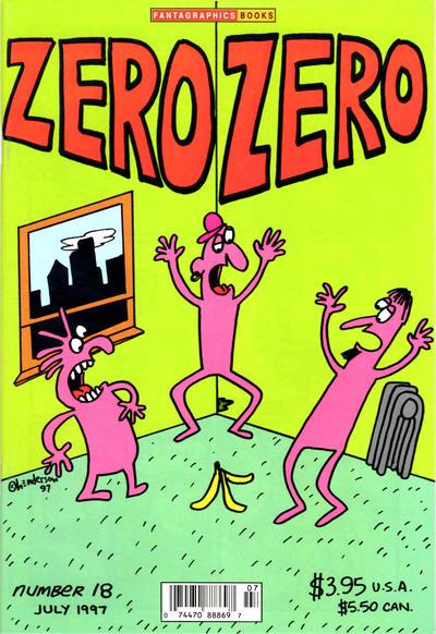Cover for Zero Zero (Fantagraphics, 1995 series) #18