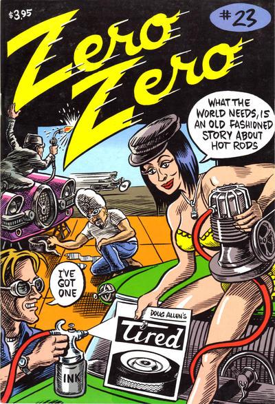 Cover for Zero Zero (Fantagraphics, 1995 series) #23