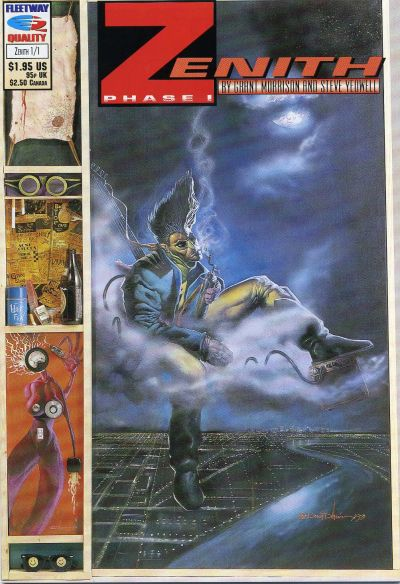 Cover for Zenith Phase I (Fleetway/Quality, 1992 series) #1