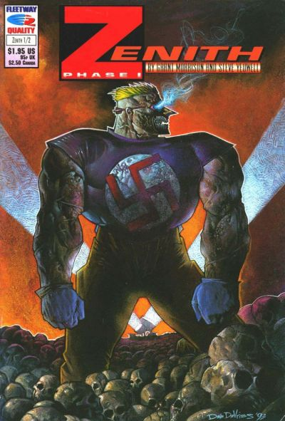 Cover for Zenith Phase I (Fleetway/Quality, 1992 series) #2