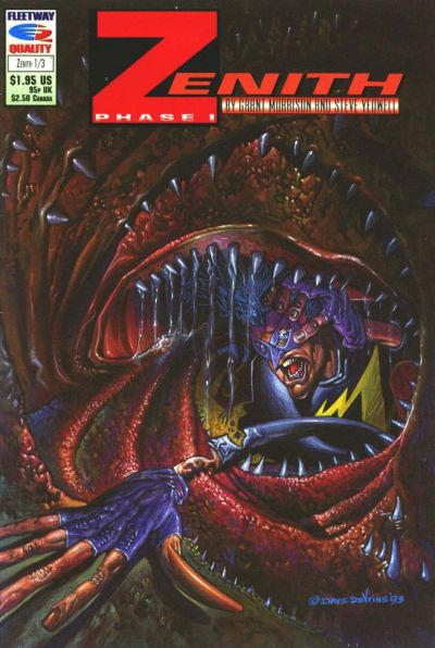 Cover for Zenith Phase I (Fleetway/Quality, 1992 series) #3