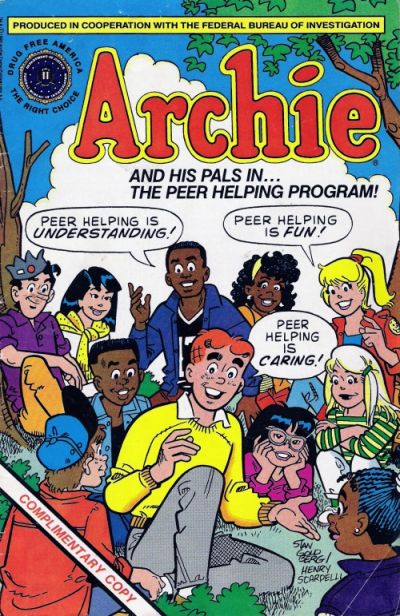 Cover for Archie and His Pals in The Peer Helping Program (Archie, 1991 series) #[nn]