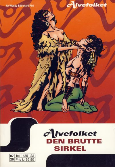 Cover for Alvefolket (Hjemmet / Egmont, 2005 series) #22