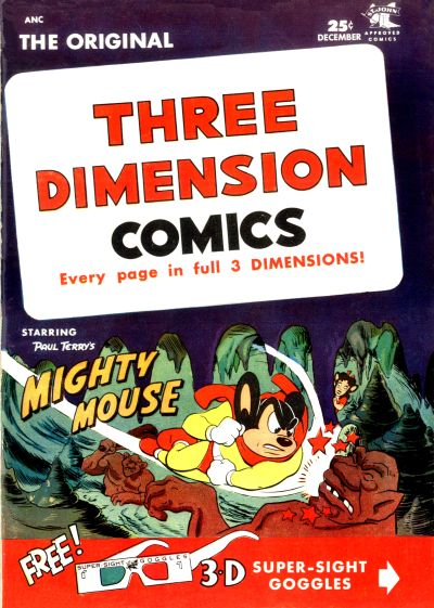 Cover for Three Dimension Comics (St. John, 1953 series) #3