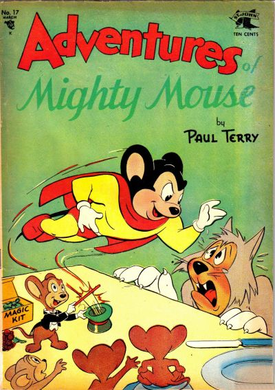 Cover for Adventures of Mighty Mouse (St. John, 1952 series) #17