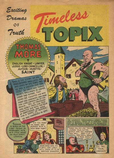 Cover for Timeless Topix (Catechetical Guild Educational Society, 1942 series) #v2#2