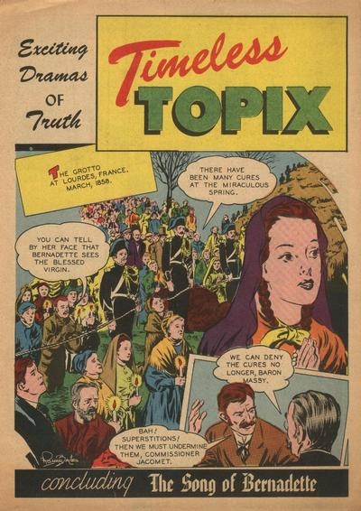 Cover for Timeless Topix (Catechetical Guild Educational Society, 1942 series) #v2#4