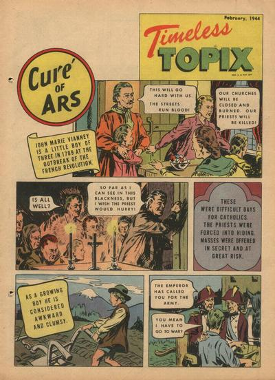 Cover for Timeless Topix (Catechetical Guild Educational Society, 1942 series) #v2#6