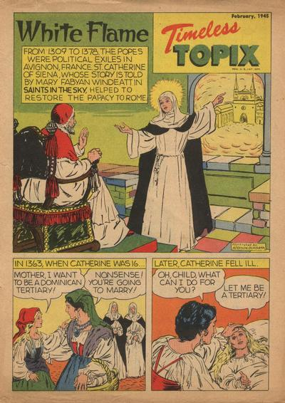 Cover for Timeless Topix (Catechetical Guild Educational Society, 1942 series) #v3#6